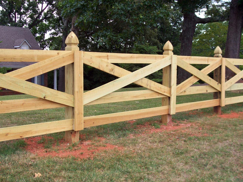 Picture of: Wonderful Types of Wood Fences