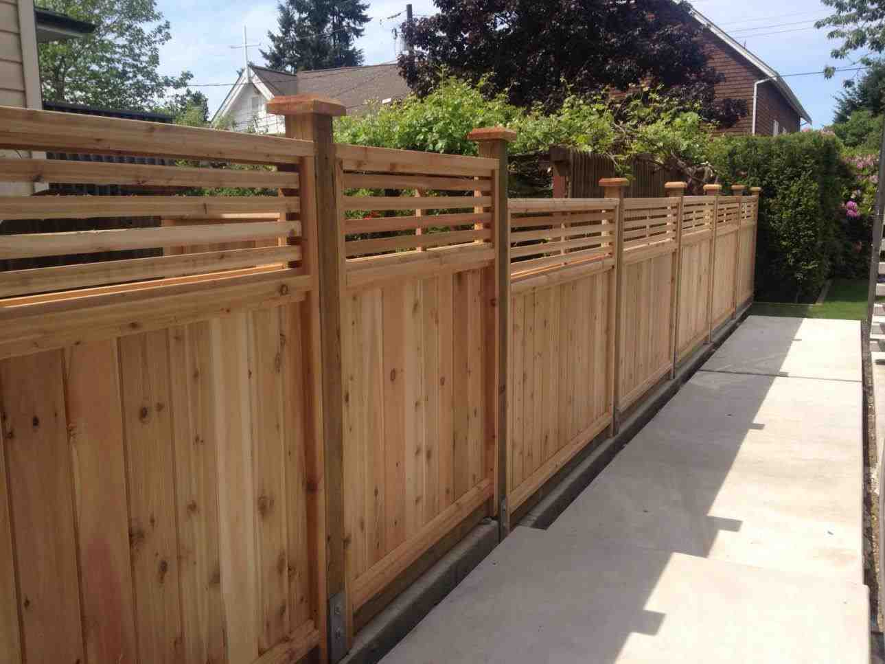 Picture of: Wood Fence Boards Panel