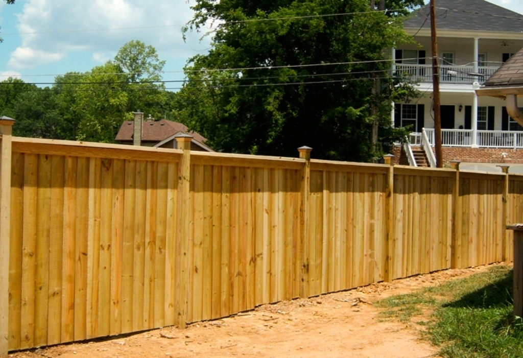 Picture of: Wood Fence Cap Board