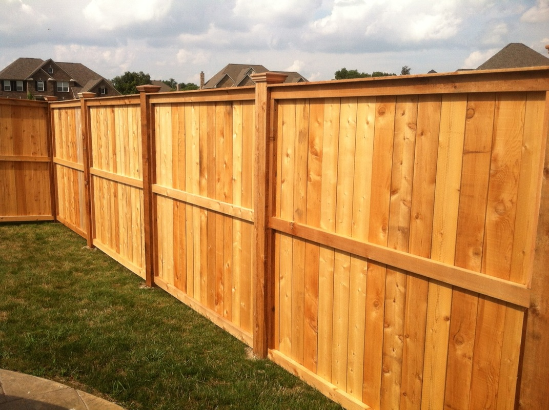Picture of: Wood Fence Cap Color