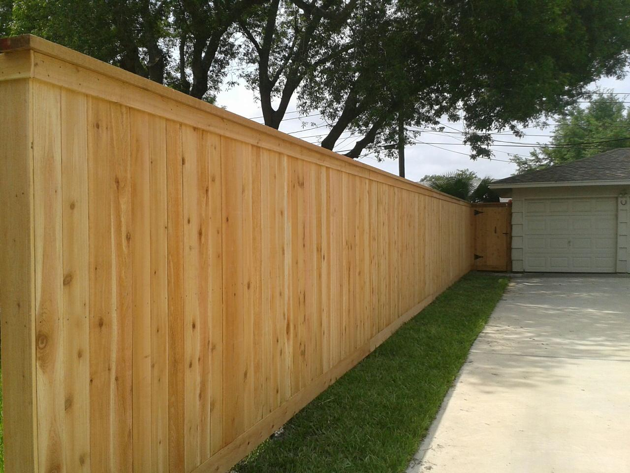 Picture of: Wood Fence Cap Finish