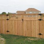 Wood Fence Cap Gates