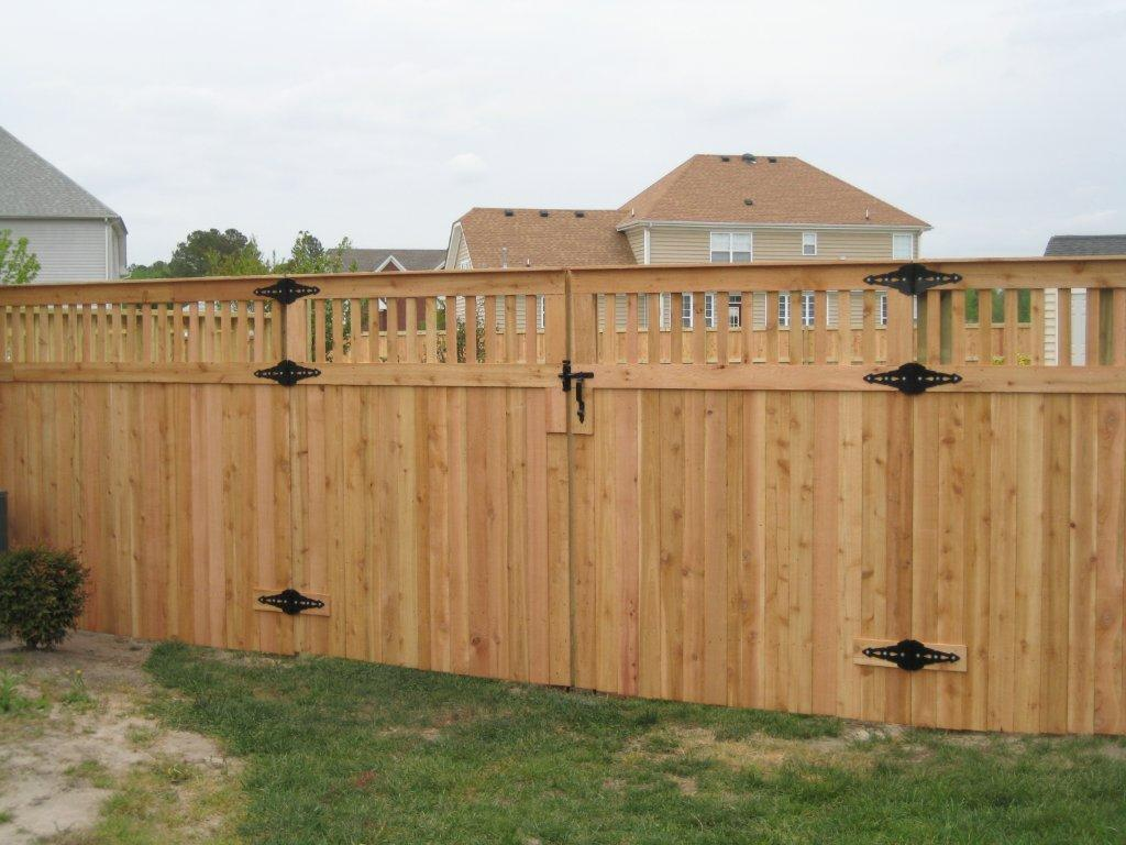 Picture of: Wood Fence Cap Gates