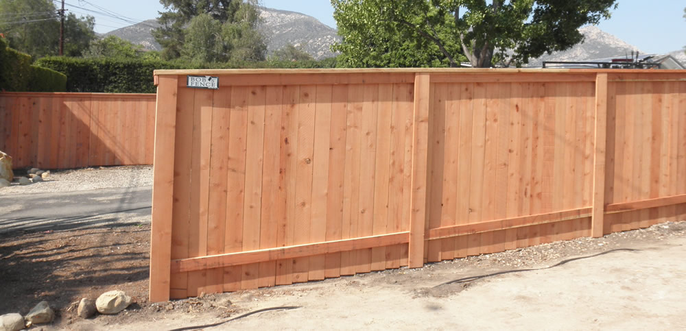 Picture of: Wood Fence Cap Idea