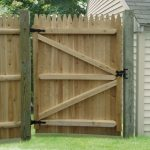 Wood Fence Gate Designs Door