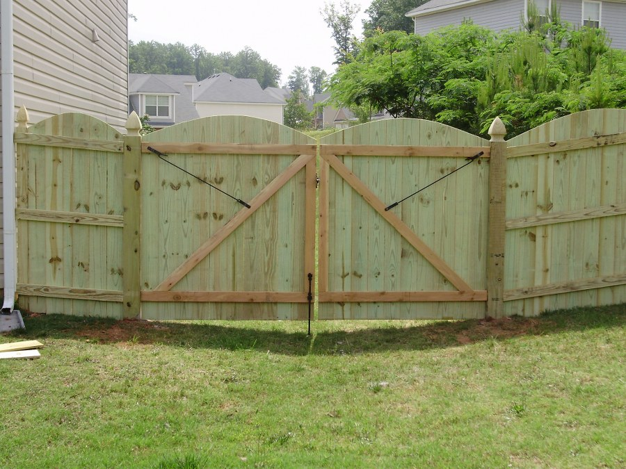 Picture of: Wood Fence Gate Hardware Double