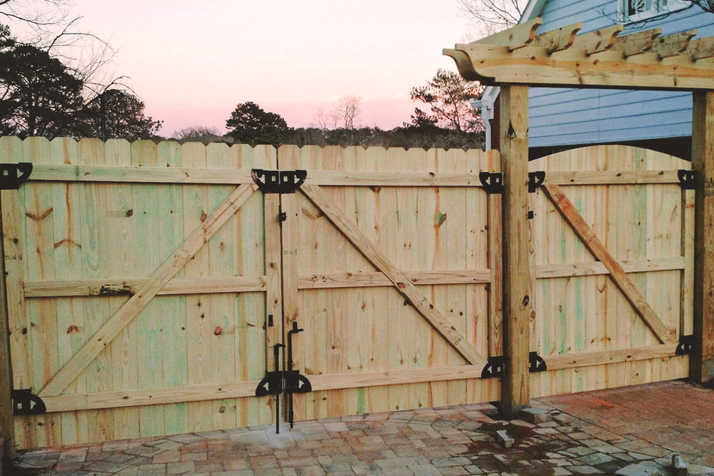 Picture of: Wood Fence Gate Hardware Kits