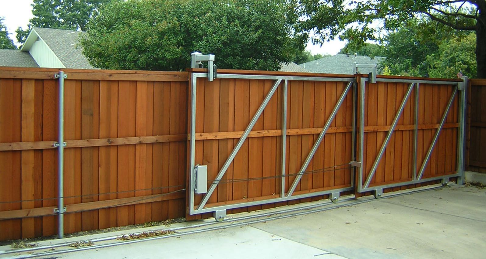 Picture of: Wood Fence Gate Hardware Slide