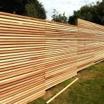 Wood Fence Panels 6x8