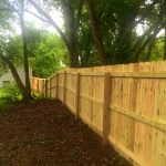 Wood Fence Pictures for Dogs