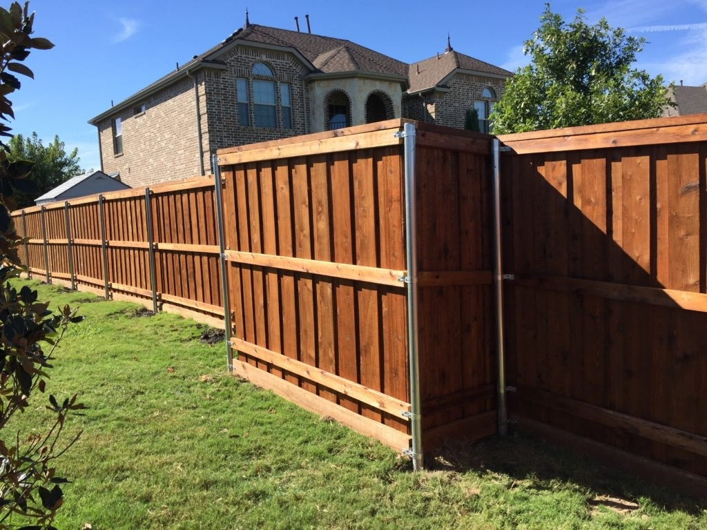 Picture of: Wood Fence Repair Idea