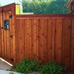 Wood Fence Stain Colors Gates