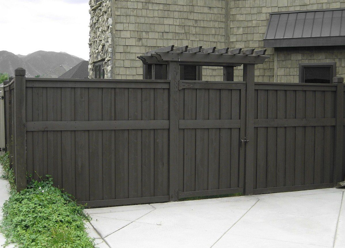 Picture of: Wood Fence Stain Colors Idea
