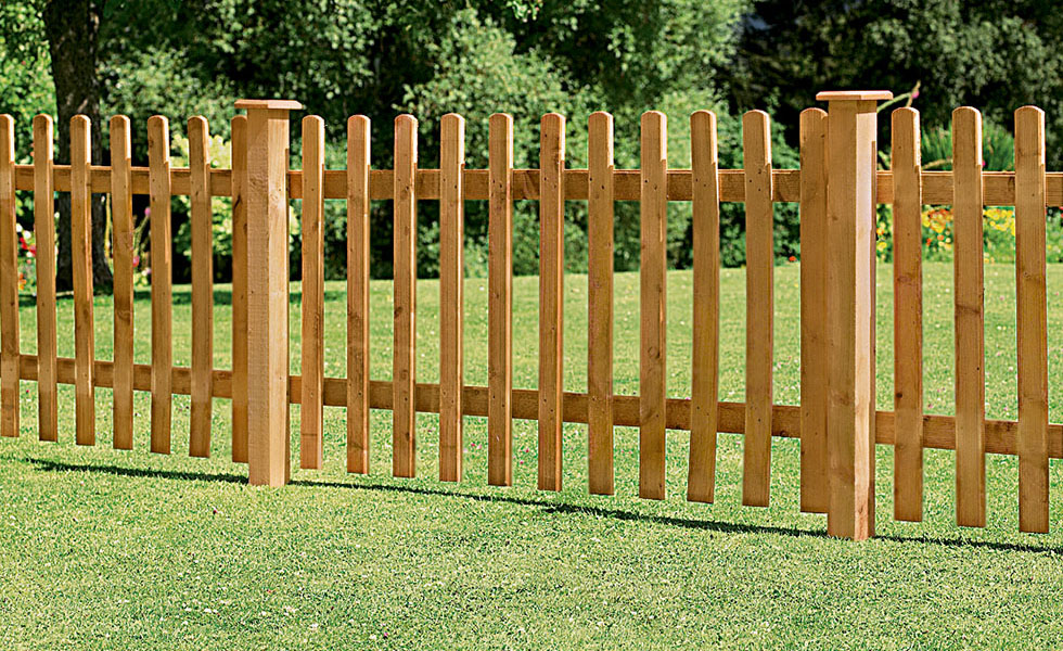 Wood Picket Fence Panels Ideas