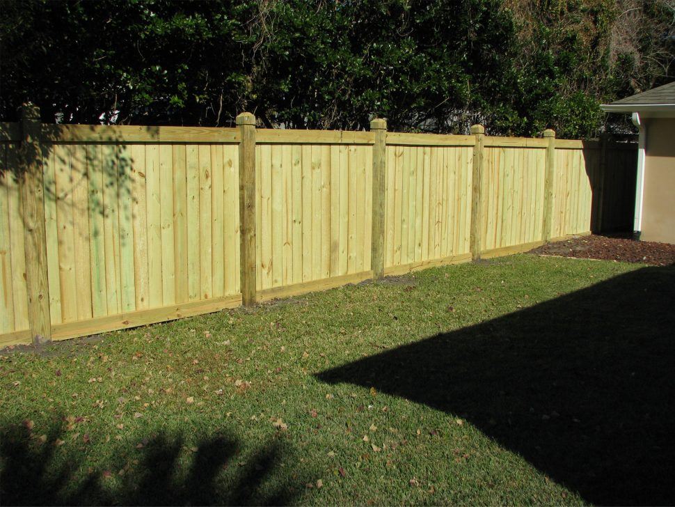 Wood Privacy Fence Ideas For Backyard