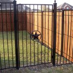 Wood-and-Metal-Privacy-Fence