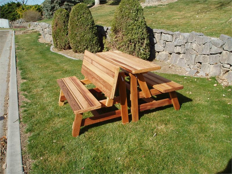 Picture of: Wooden Bench Table Plans