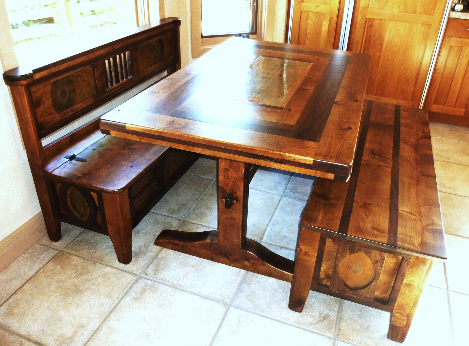 Picture of: Wooden Bench Table for Sale
