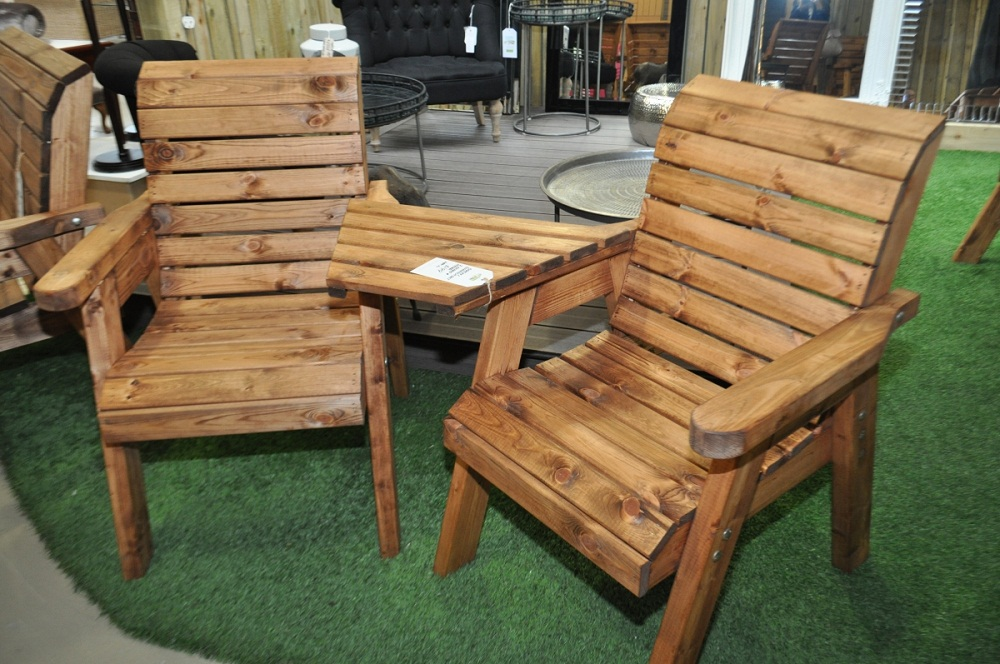 Picture of: Wooden Benches For Outside and Tables