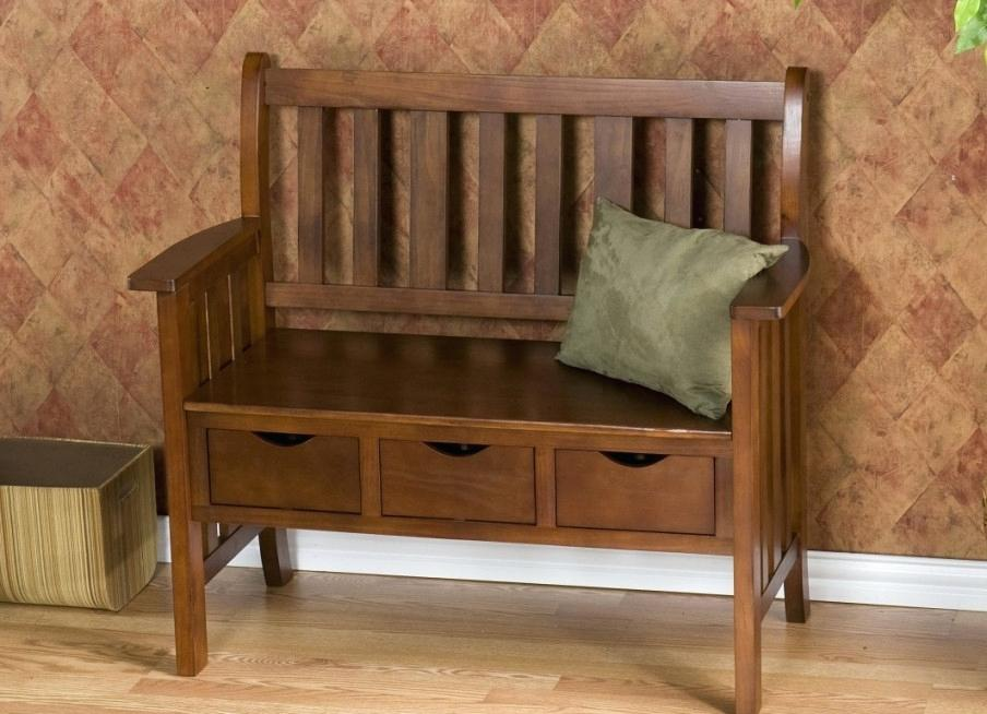 Picture of: Wooden Crate Bench Back
