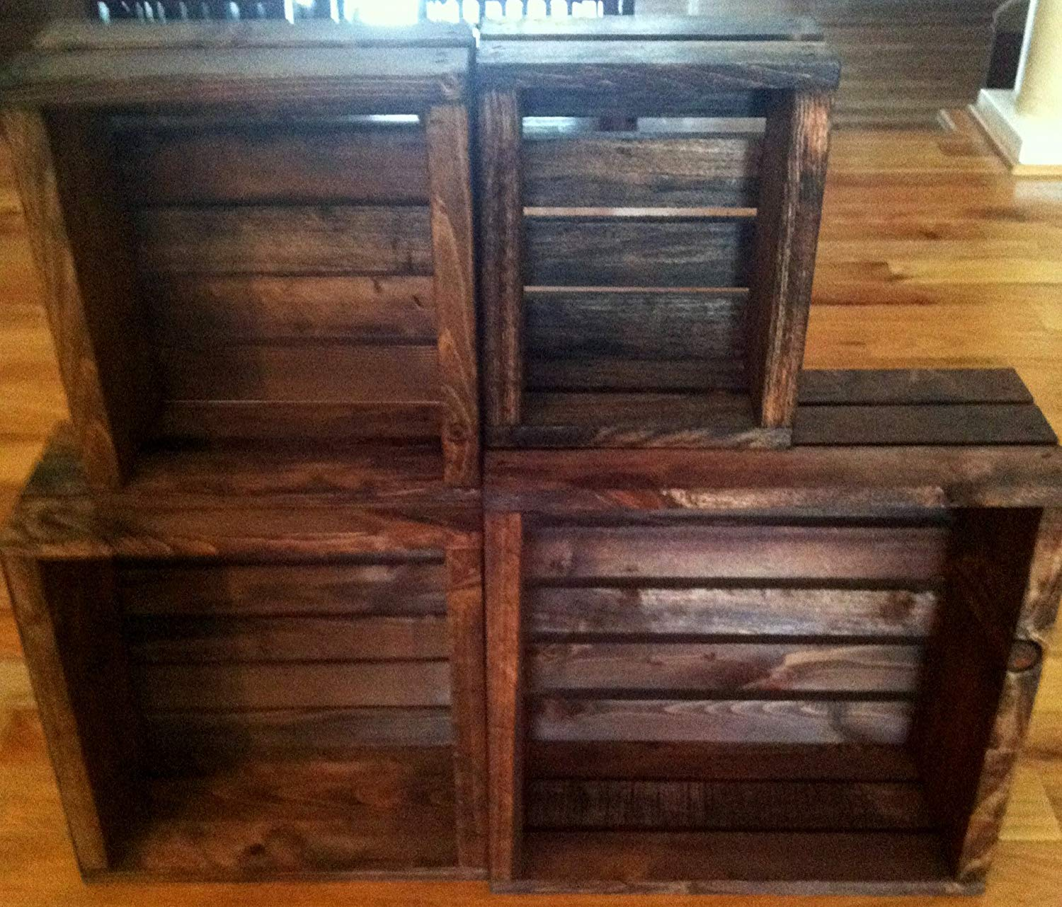 Picture of: Wooden Crate Bench DIY