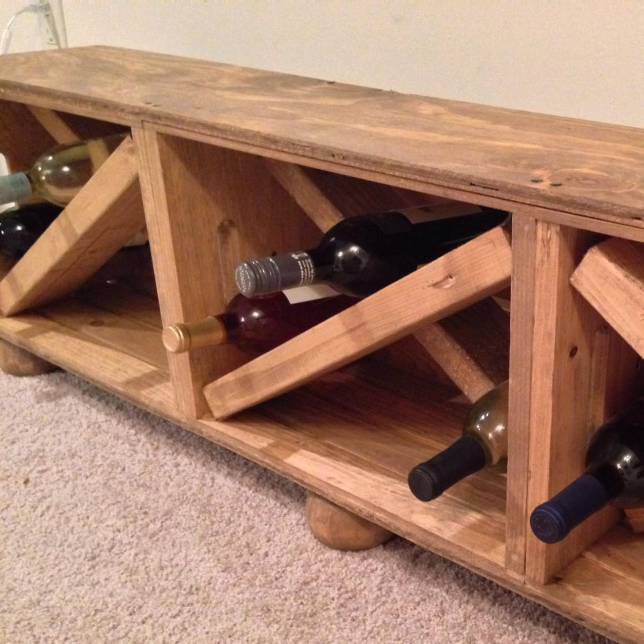 Picture of: Wooden Crate Bench Storage