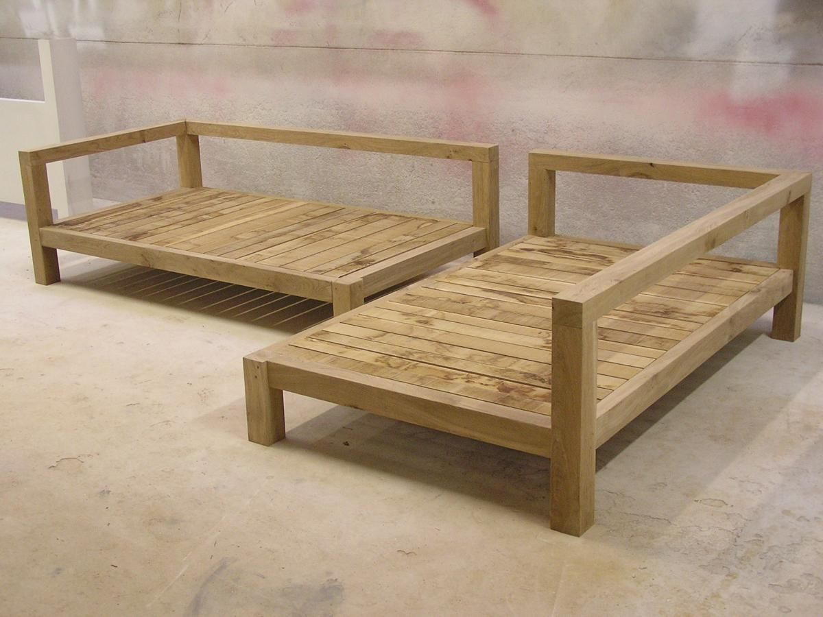 Picture of: Wooden Crate Bench Wide