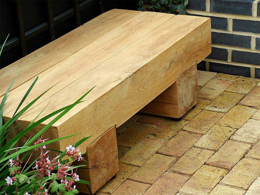 Picture of: Wooden Garden Bench Small