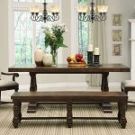 Wooden Kitchen Table with Bench Models