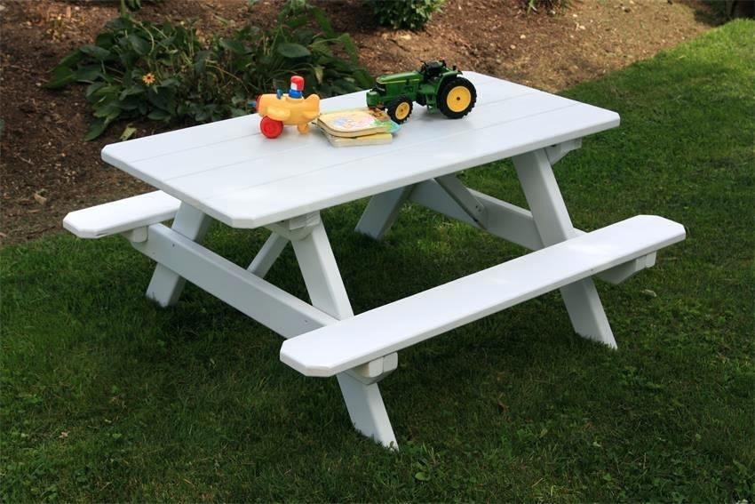 Picture of: Wooden Picnic Bench Kids