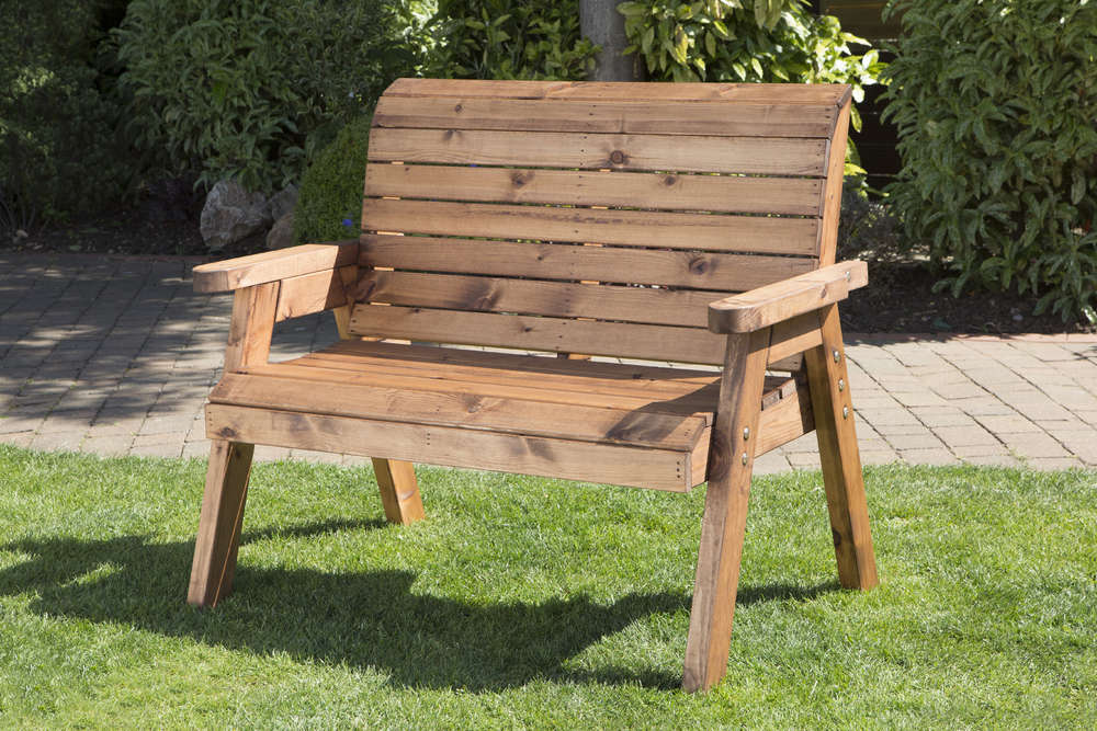 Picture of: Wooden Porch Bench Back