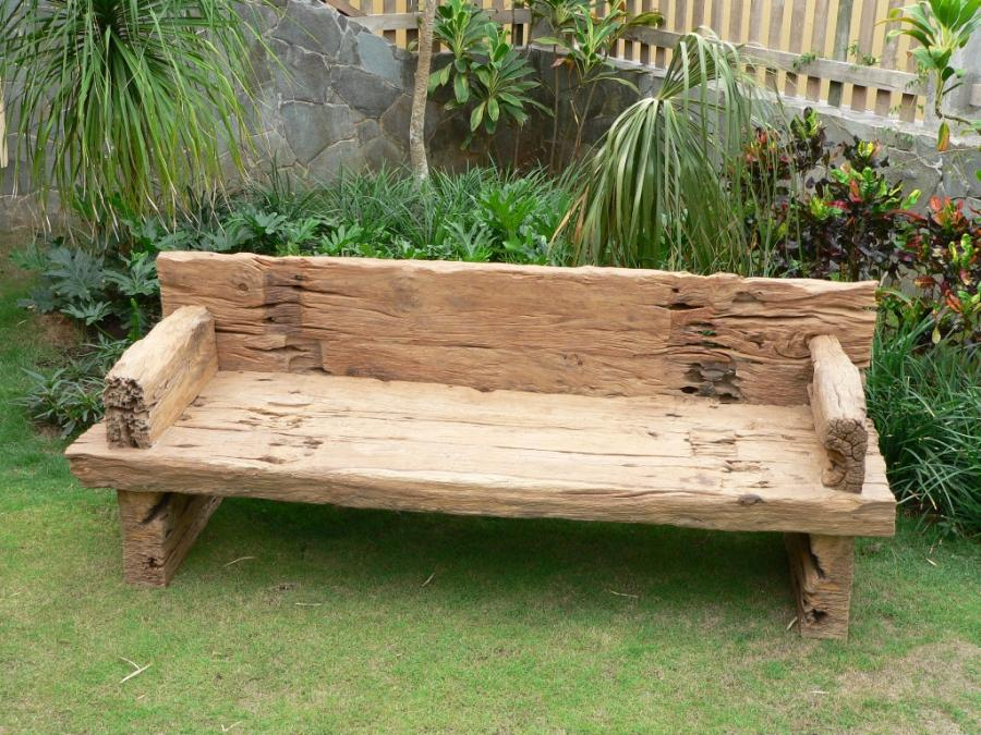 Picture of: Wooden Porch Bench Idea