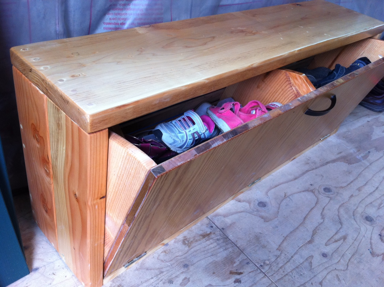 Picture of: Wooden Shoe Bench Elegant