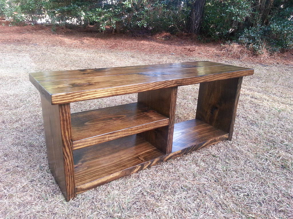 Picture of: Wooden Shoe Bench Rustic