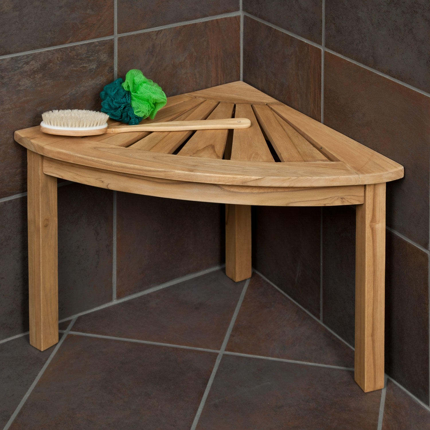 Wooden Shower Bench Shapes