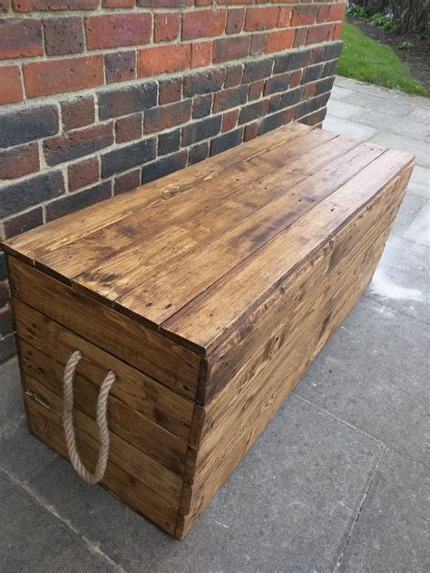 Picture of: Wooden Storage Bench Box