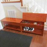 Wooden Storage Bench Shoes