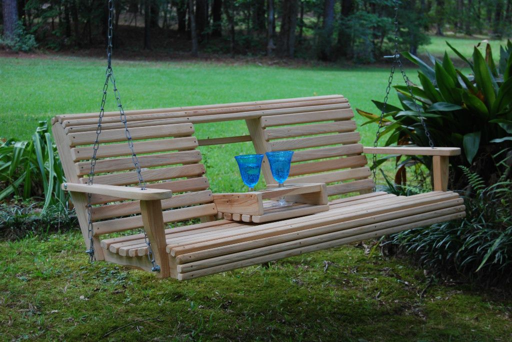 Picture of: Wooden Swing Bench Ireland