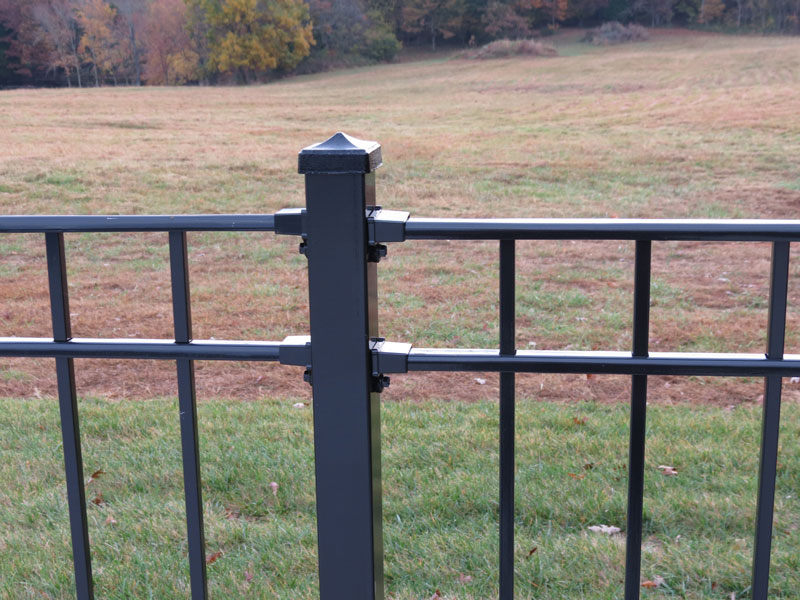 Picture of: Wrought Iron Fence Panels Color