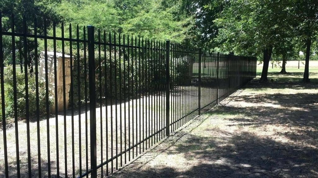 Picture of: Wrought Iron Fence Panels Colors