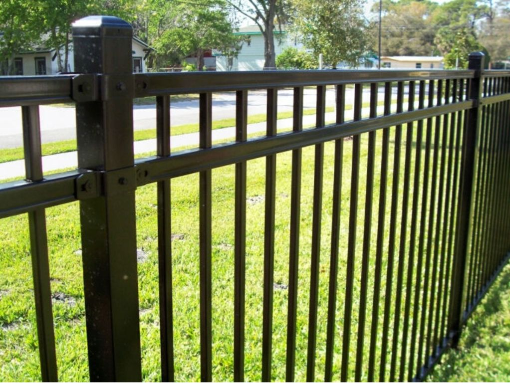 Picture of: Wrought Iron Fence Panels Design