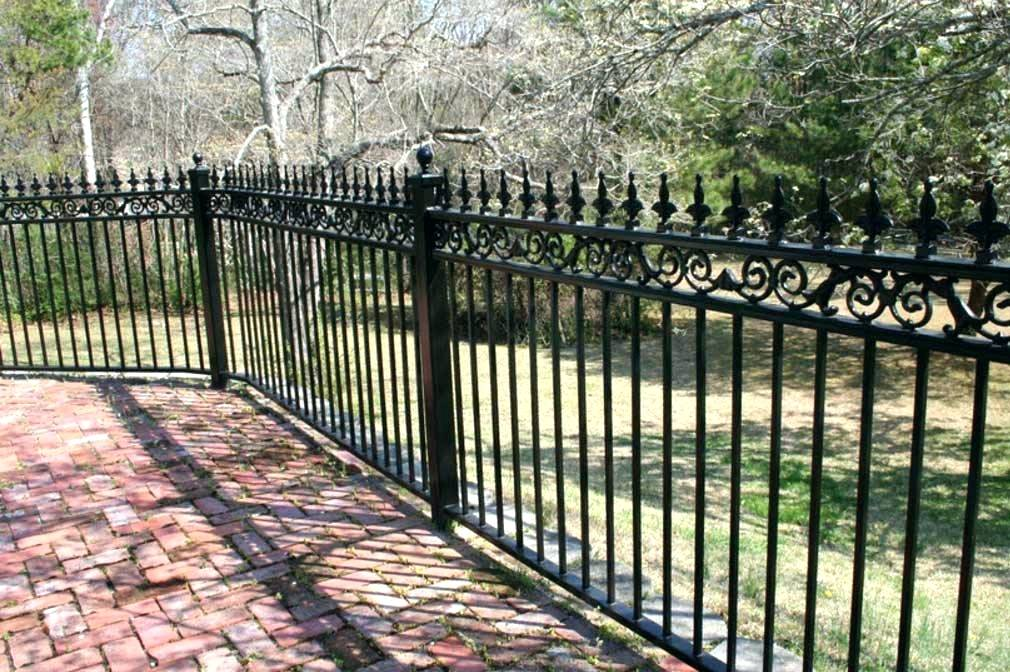 Picture of: Wrought Iron Fence Panels Home