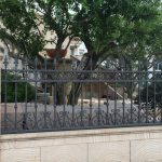 Wrought Iron Fence Panels Idea