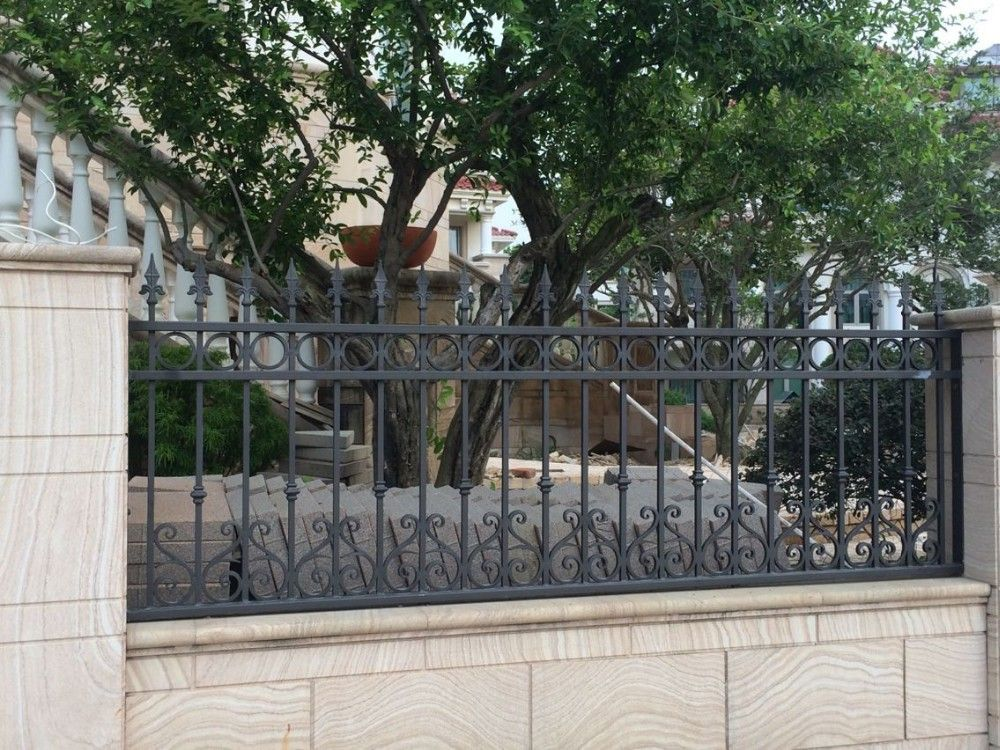 Picture of: Wrought Iron Fence Panels Idea