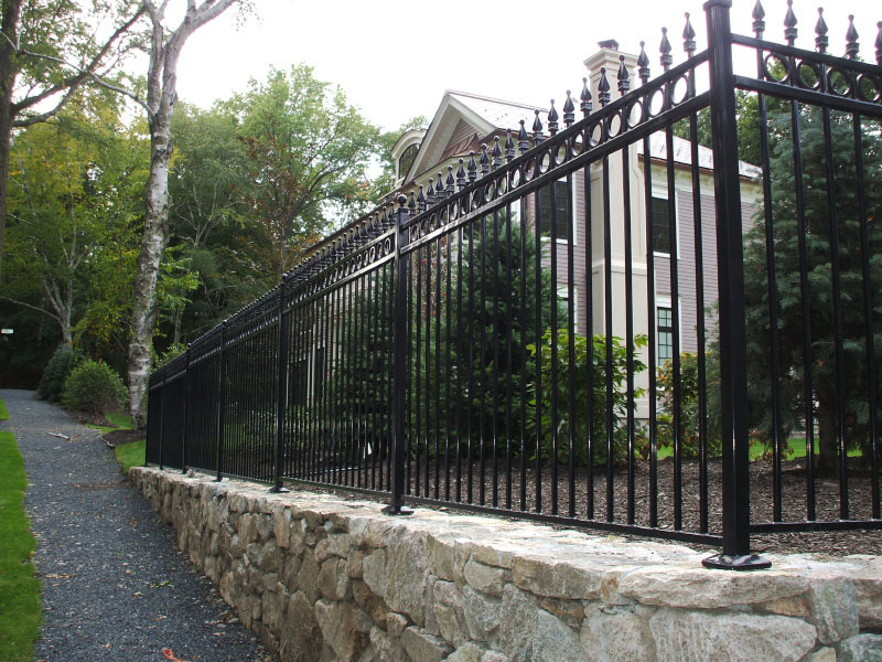 Picture of: Wrought Iron Fence Panels Type