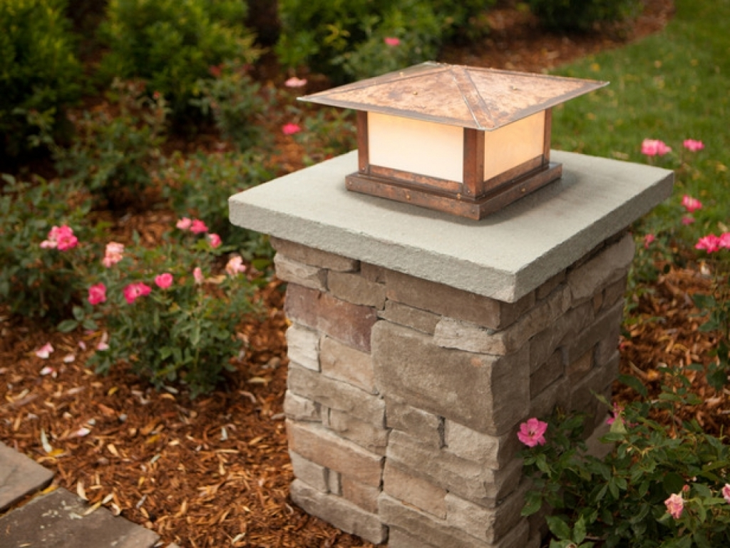 Picture of: Yard Outdoor Column Lights