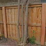 Yard Steel Post for Wood Fence