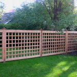 Yard Wood Fence Pictures