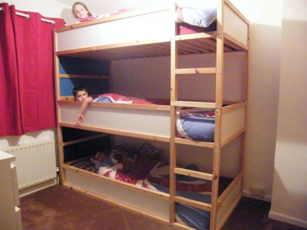 3 Bunk Bed Ikea