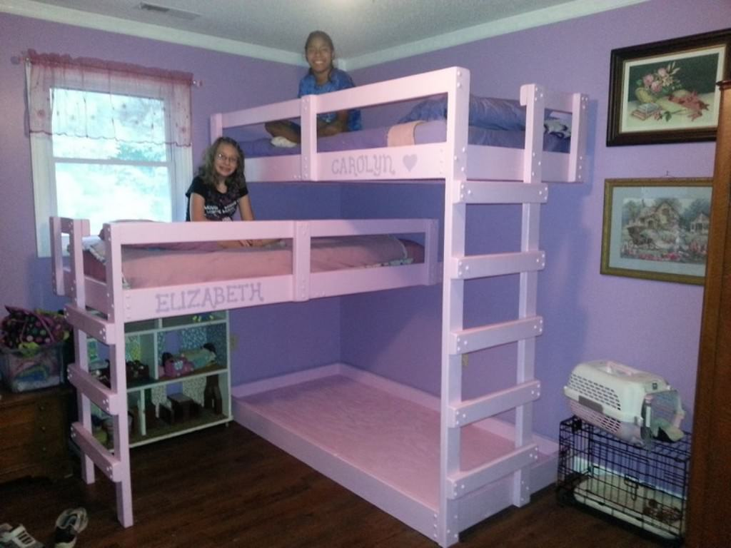 3 Person Bunk Bed Diy